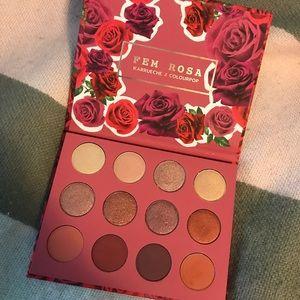 Colourpop fem Rosa palette NWT
